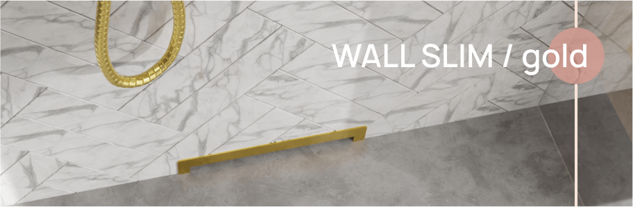 Wall slim gold